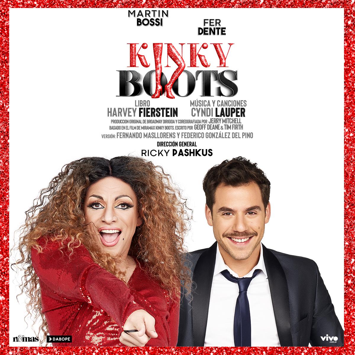 Kinky Boots, el musical mas visto del mundo llego a Buenos Aires