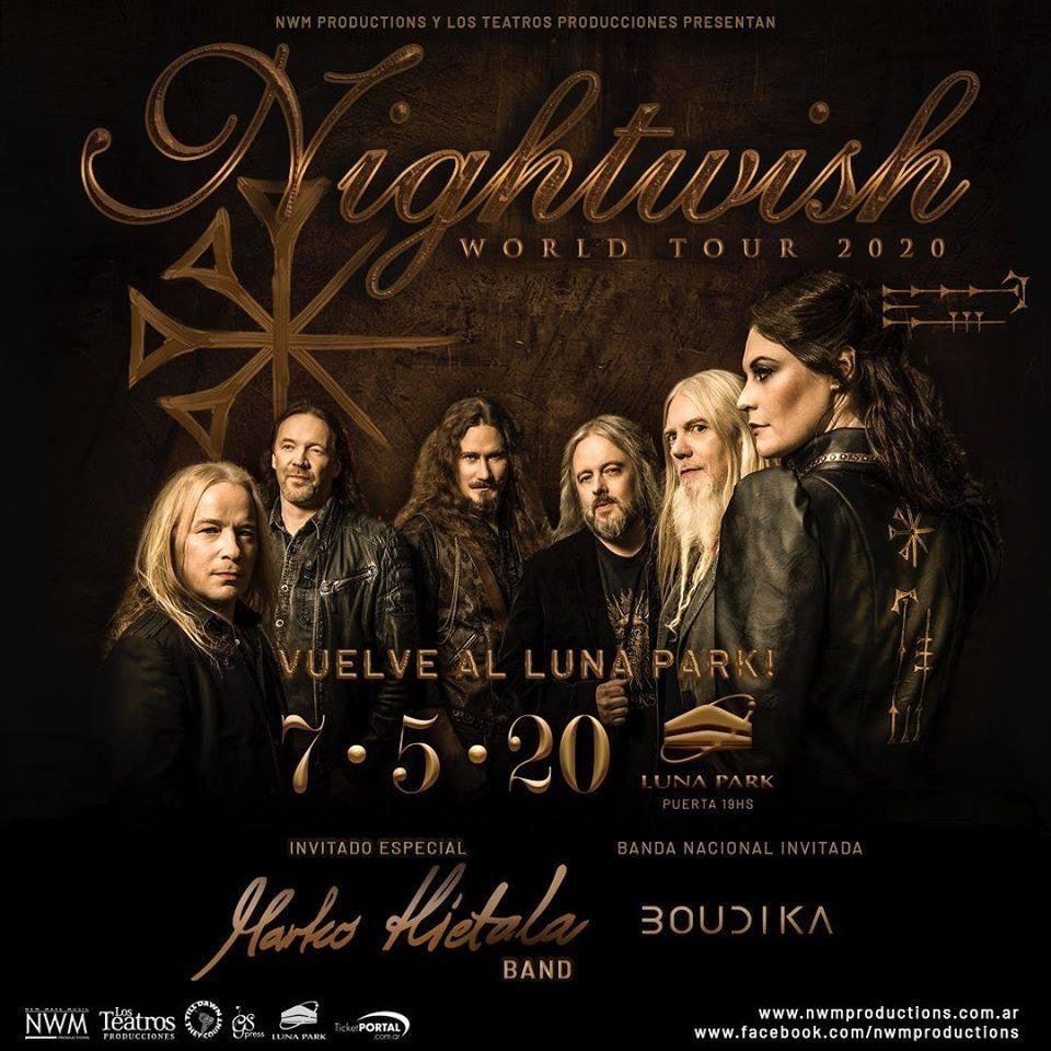 Nightwish regresa a la Argentina