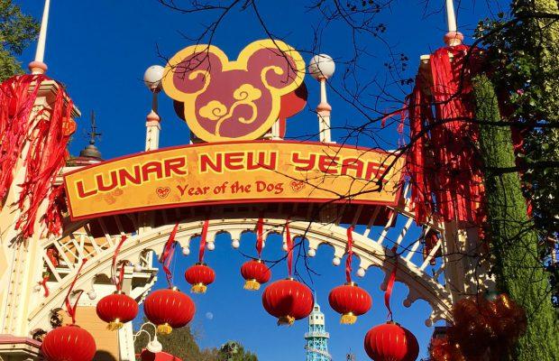 Disneyland Resort da la bienvenida al Año del Ratón en el evento del Año Nuevo Lunar