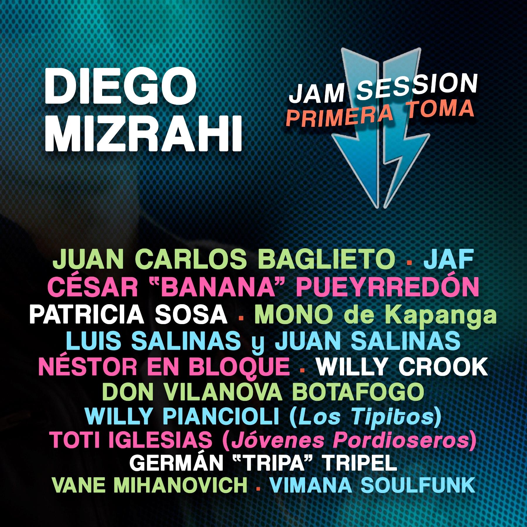 Diego Mizrahi presenta su nuevo disco Primera Toma | Buenos Aires ...