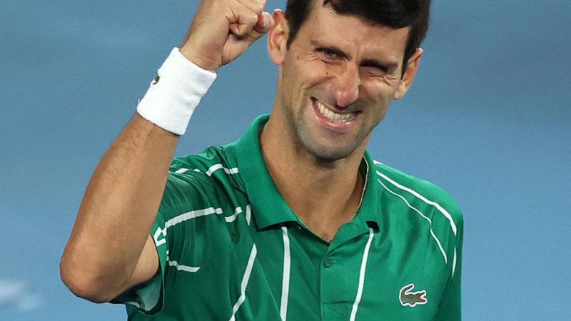 SEIKO acompañó a Novak Djokovic en un nuevo triunfo  Abierto de Australia