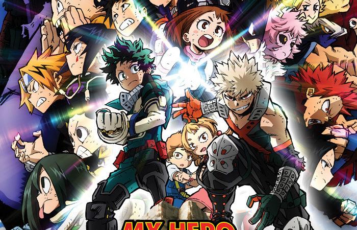 Cinemark-Hoyts estrena My Hero Academia: Heroes Rising, de Kōhei Horikoshi