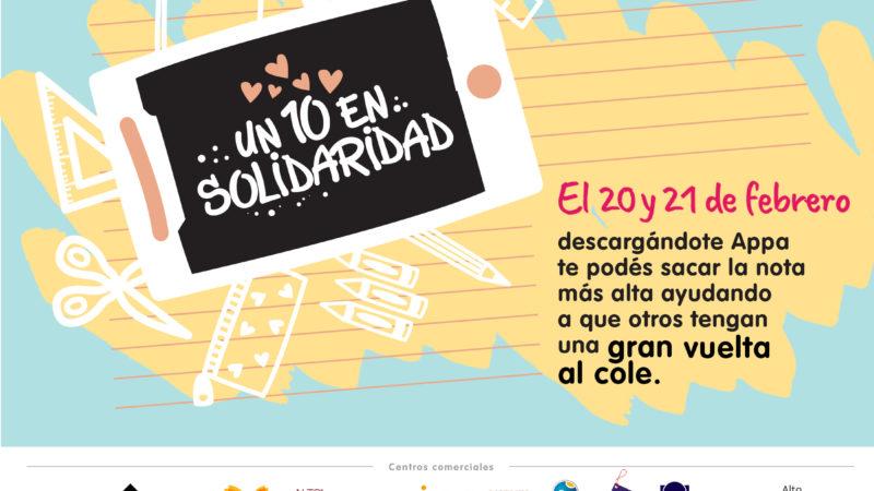 """IRSA presenta la campaña """"Un 10 en solidaridad"""""""