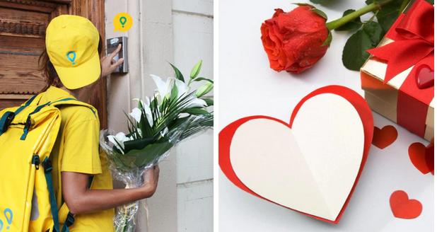 Cupido visita a todos en San Valentín gracias a Glovo