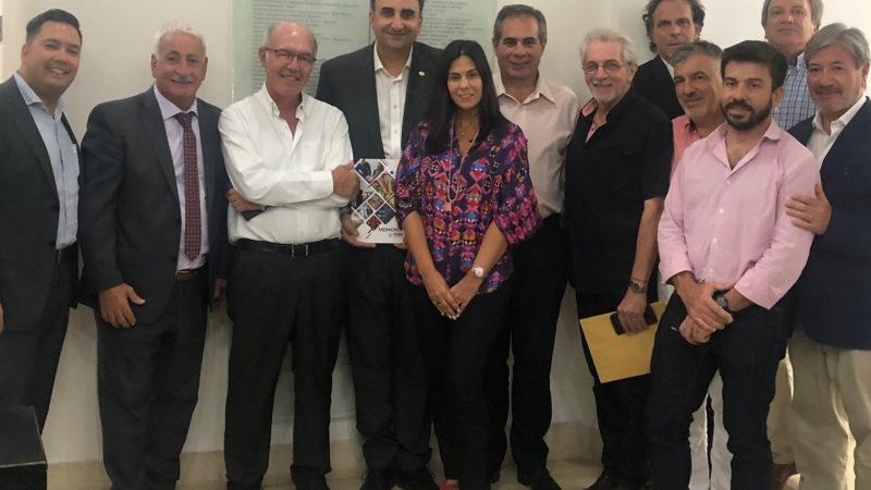 Autoridades de la Cámara de Turismo de la provincia de Buenos Aires visitaron FEBA
