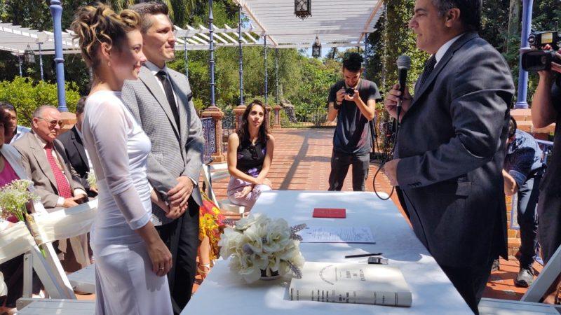 BAmor: Camila y Matías se casaron en el día de San Valentín
