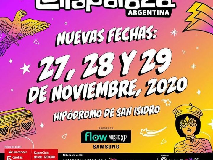 Reprogramación de Lollapalooza Argentina 2020