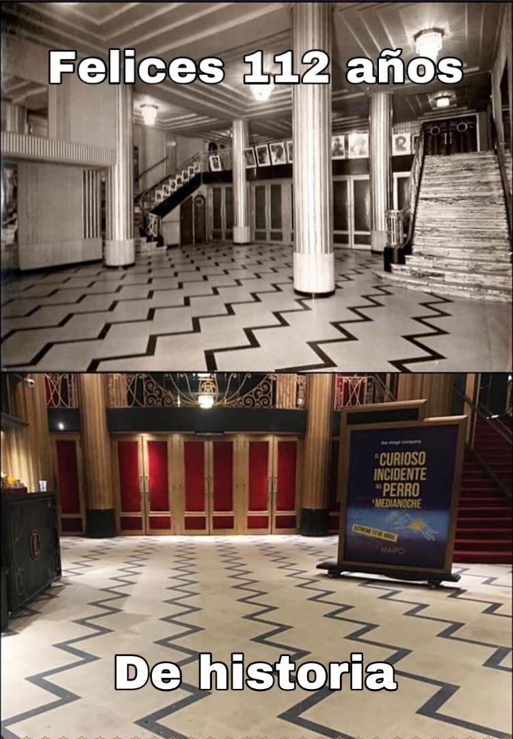 Revuelo en el paraíso – Felices 112 años Teatro Maipo
