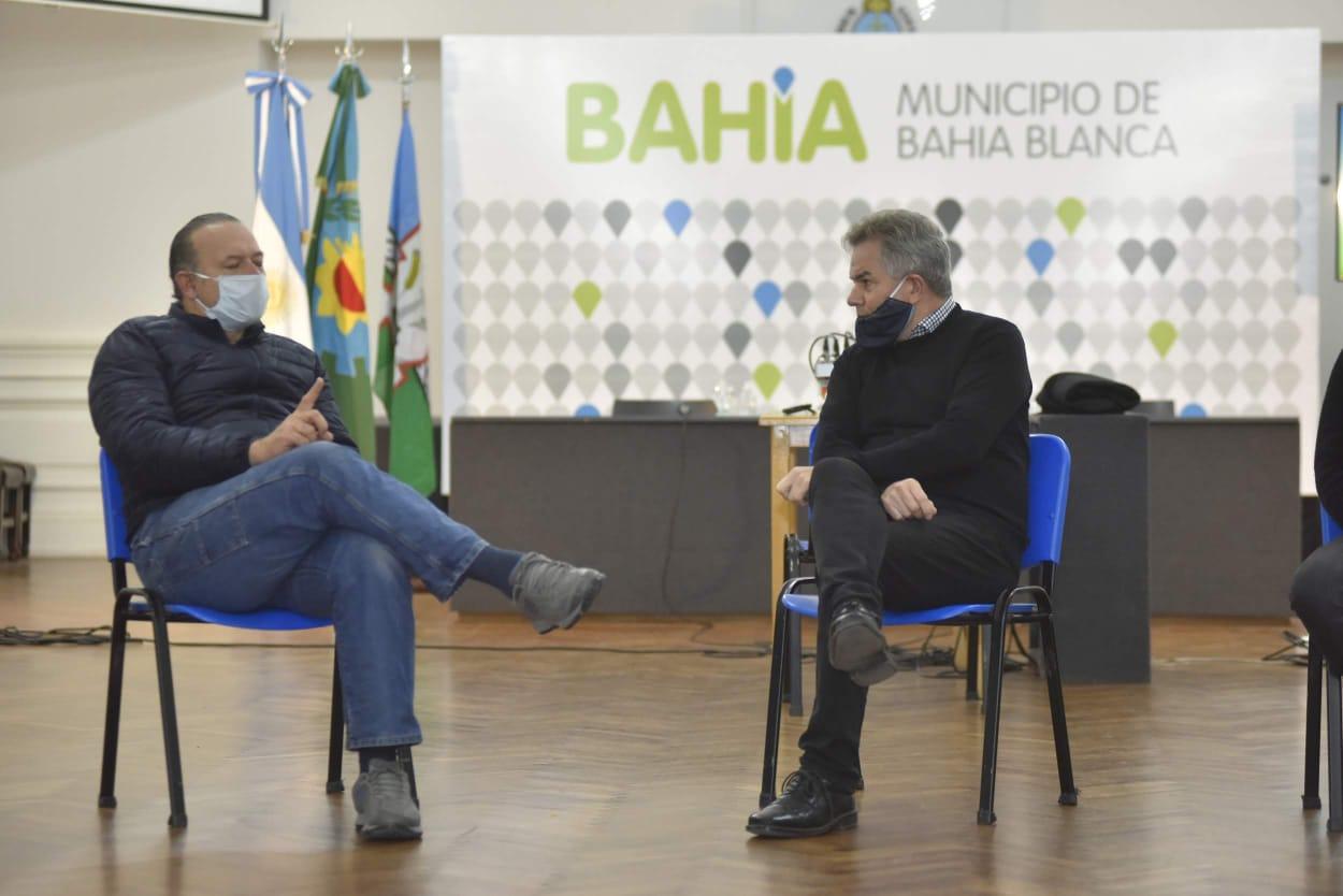 """Berni apela a la """"responsabilidad"""" de la ciudadanía para """"no subir los contagios"""""""