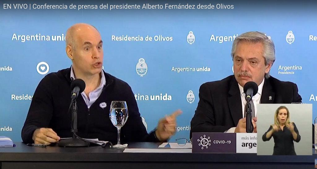 """""""La situación es riesgosa en la ciudad, por favor no salgan"""", pidió Rodríguez Larreta"""