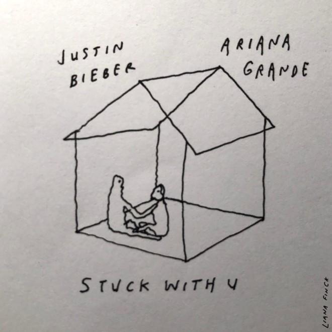 """Ariana Grande y Justin Bieber lanzaron """"Stuck With U"""" su nuevo single solidario"""