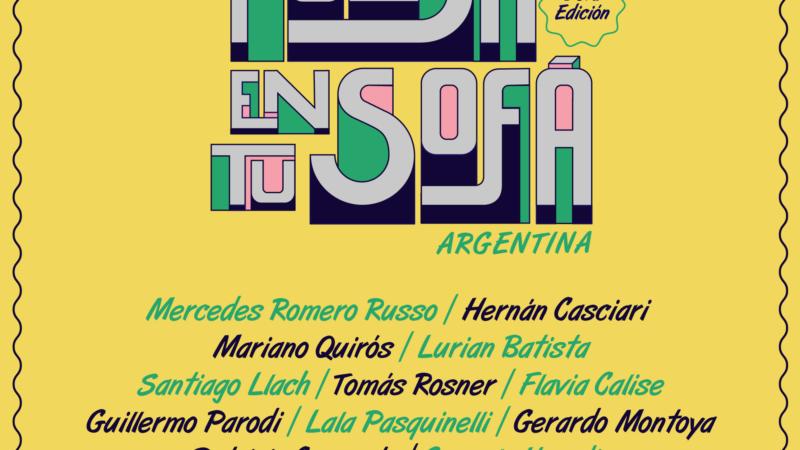 """""""Poesía en tu Sofá Argentina"""" realiza su tercera edición"""