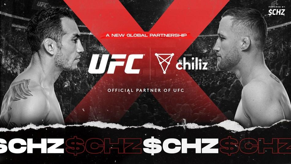 UFC y Chiliz anuncian nuevo acuerdo de patrocinio
