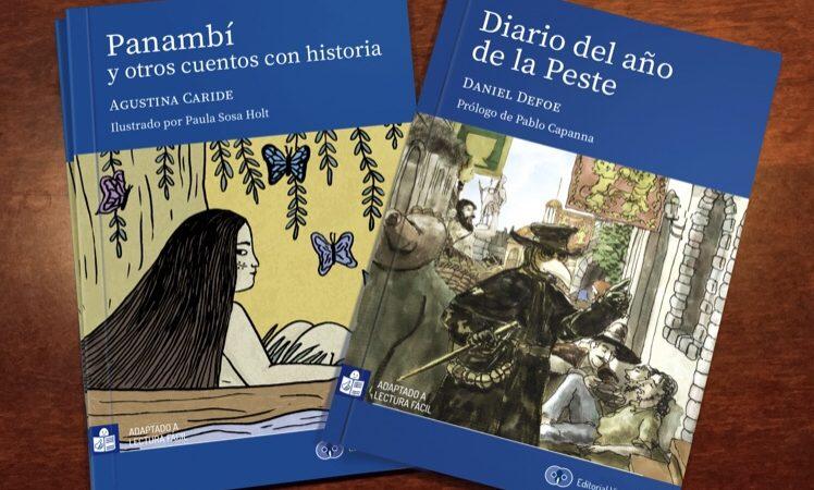 Inclusión social a través de la lectura: Fundación Visibilia lanza dos nuevos textos literarios en formato lectura fácil