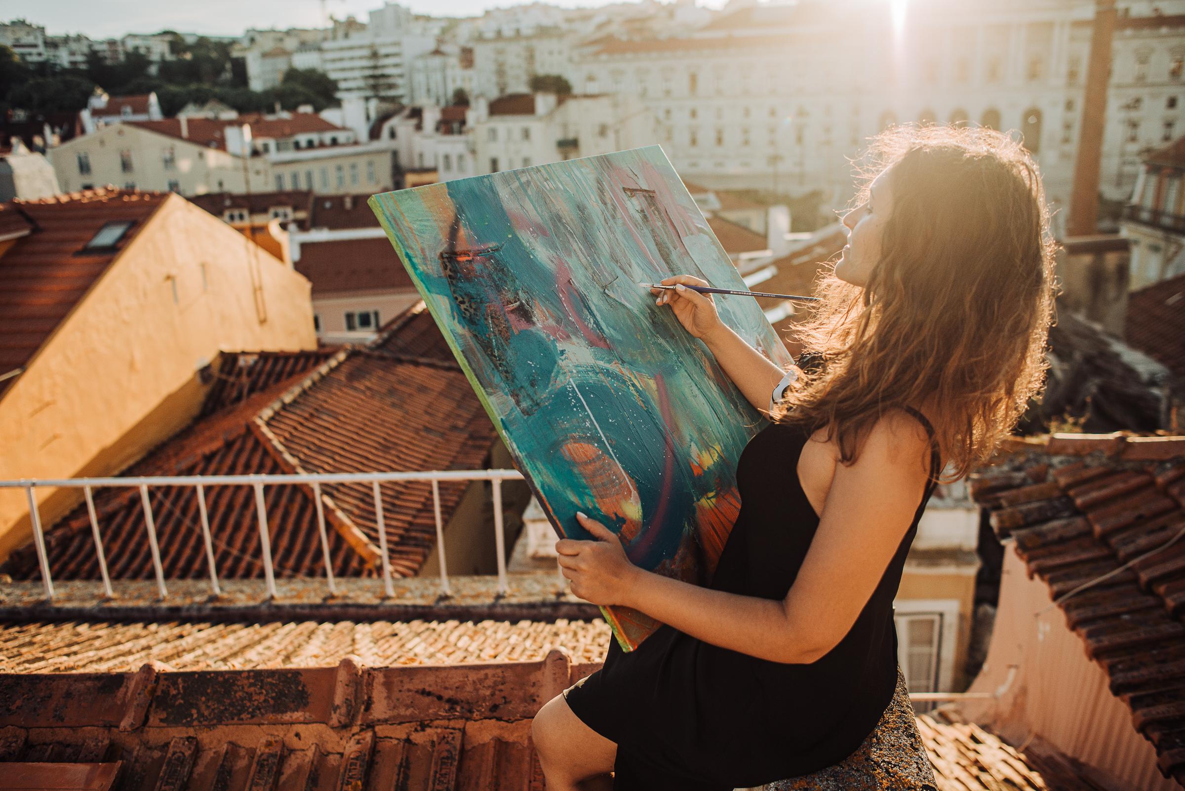 ARTE EN CUARENTENA | Artistas visuales argentinos se unen para exponer sus obras en un festival online
