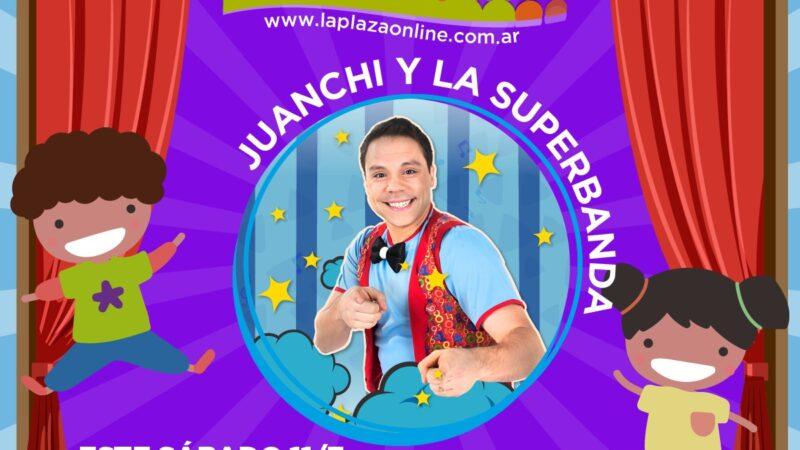 Juanchi y la Superbanda en La Plaza de los chicos Online