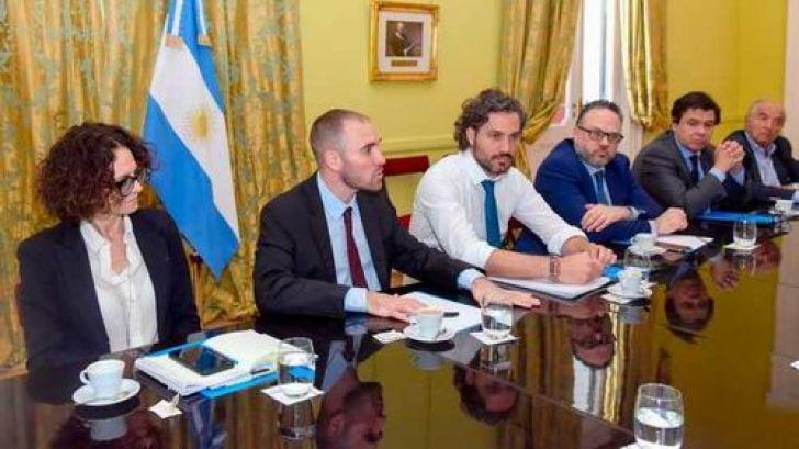 Santiago Cafiero se reunirá hoy con Trotta y Arroyo para comenzar a delinear el presupuesto 2021