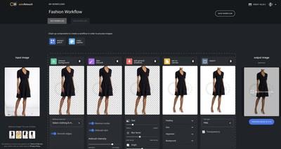 Se lanza autoRetouch para revolucionar la edición de imagen para productos de moda