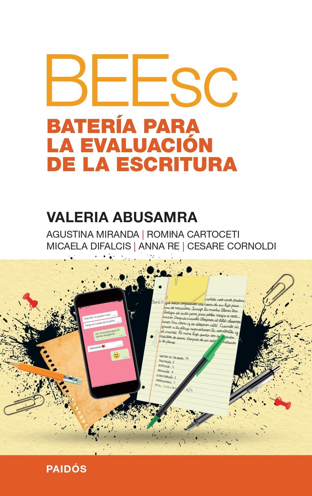 BEEsc Batería para la Evaluación de la Escritura, Valeria Abusamra