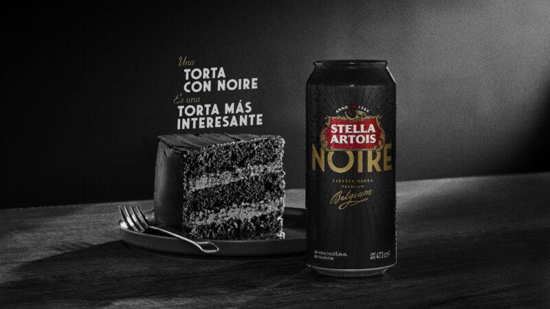 """Bajo el lema """"Todo es más interesante en blanco y Noire"""", Stella Artois lanza una nueva lata de su variedad negra"""