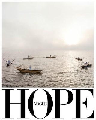 """Condé Nast anuncia la primera colaboración global de este tipo: La Edición """"Hope"""" de Vogue    #VogueHope"""