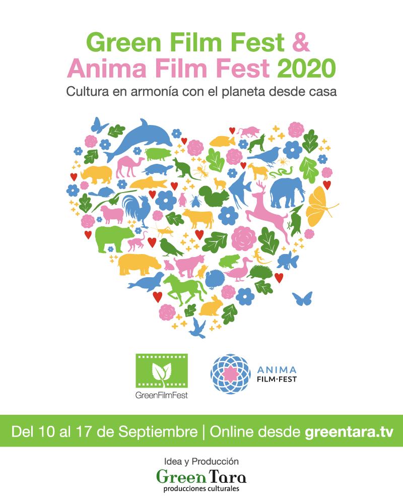 Llega la 11°edición del Green Film Fest, Cultura en armonía con el planeta, en Septiembre 2020 online