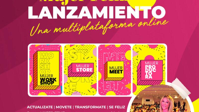 Mujer Feliz: lanzamiento de su multiplataforma online