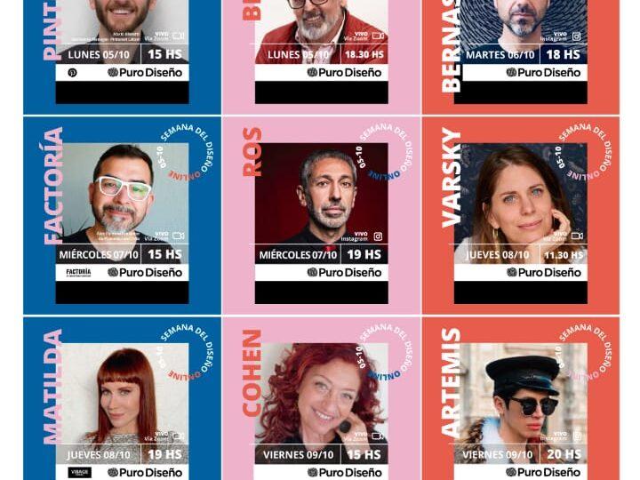 """Benito Fernandez y Santiago Artemis protagonistas de la """"Semana del Diseño virtual"""""""
