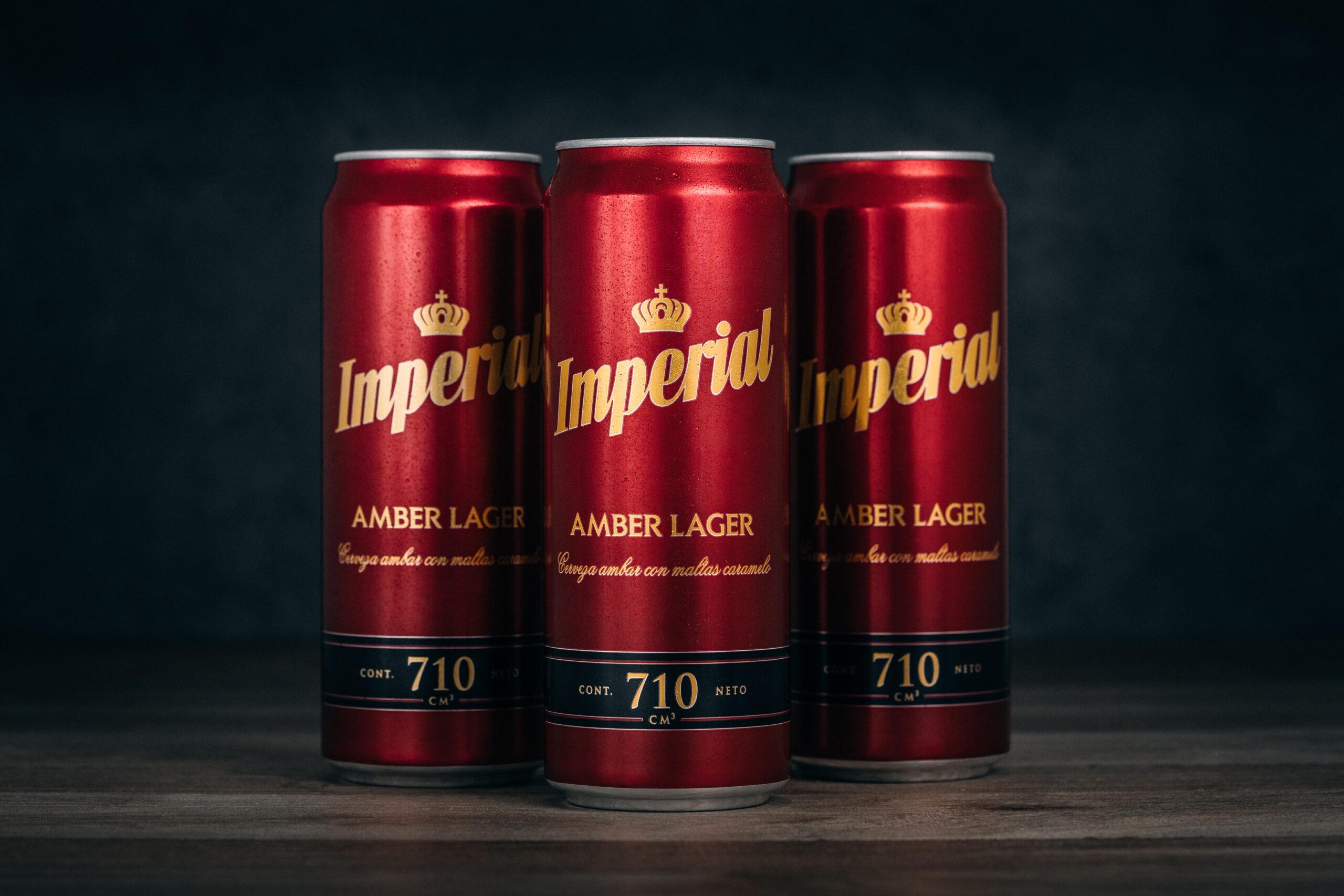 La recompensa de Imperial se extiende con la nueva Amber Lager 710cc