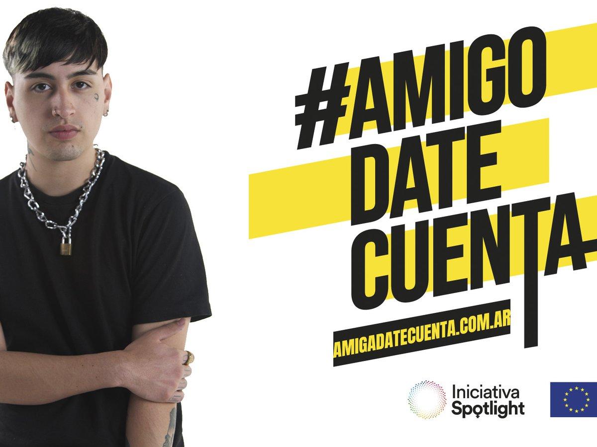 #AmigoDateCuenta: la campaña que le habla a los varones para frenar la violencia de género