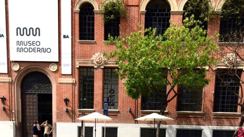 El Museo Moderno reabre su Tienda al público y el Café al aire libre