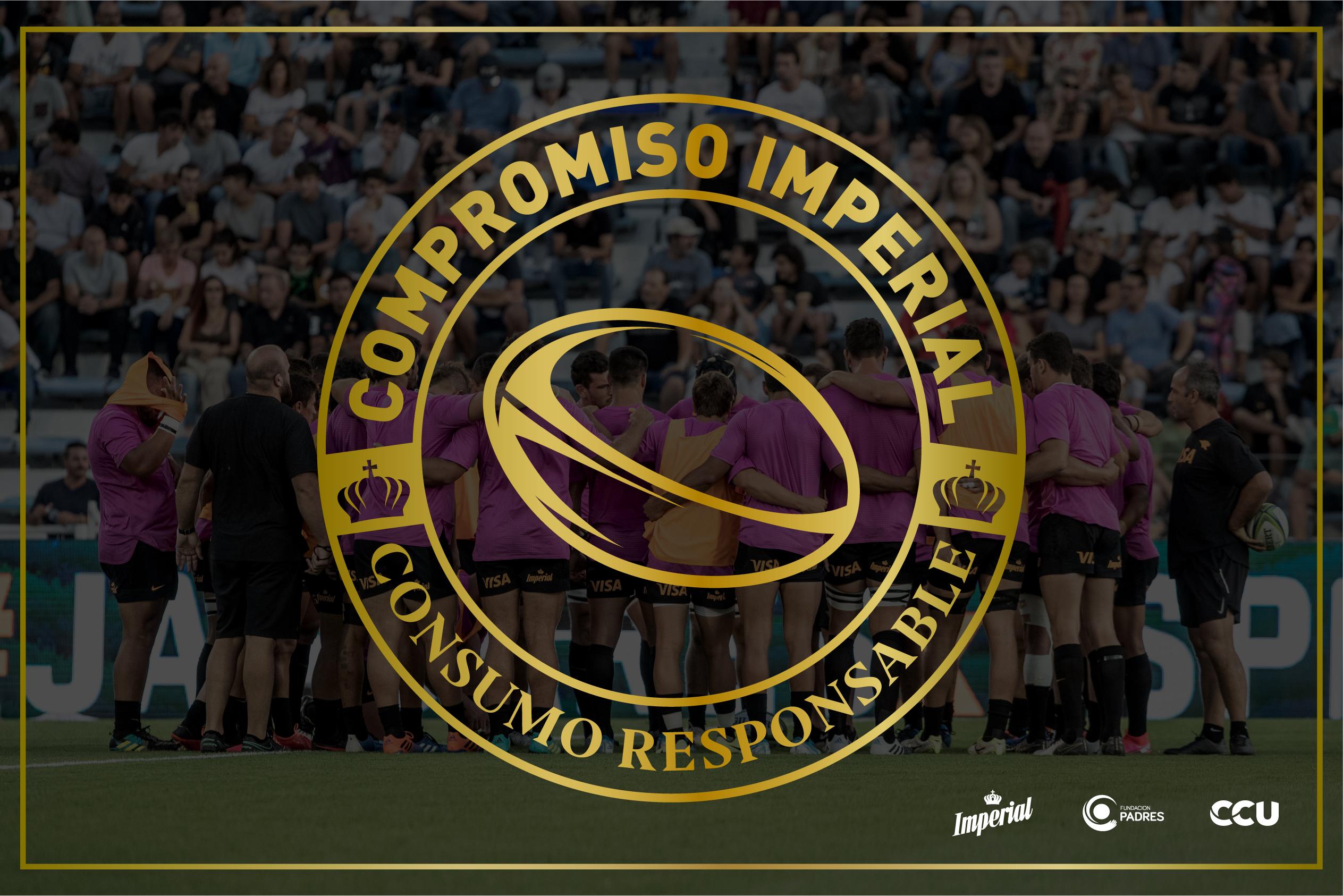 """Cerveza Imperial lanza el programa """"Compromiso Imperial"""" para promover el consumo responsable junto a rugby"""