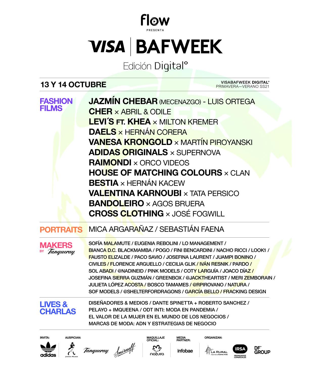 FLOW presenta VISA BAFWEEK 2020: moda más allá de las temporadas y las fronteras