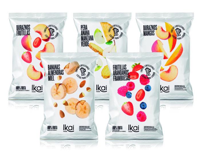 Llega IKAI Foods, blends de frutas liofilizadas