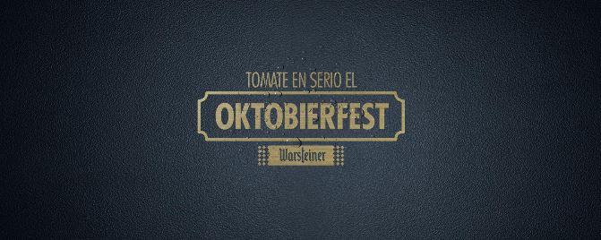 """Warsteiner invita a celebrar un """"Oktobierfest"""" distinto, con seriedad y desde la comodidad de tu casa"""