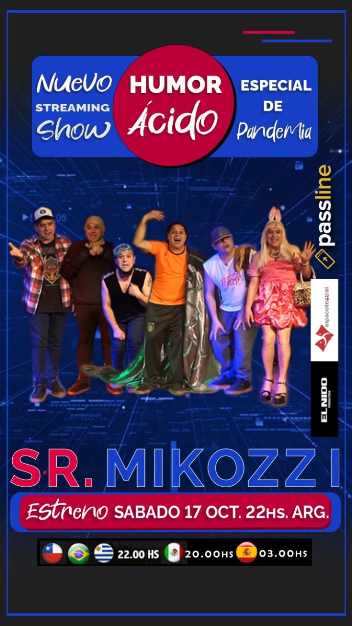 ¡Nuevo streaming show del genial Pablo Mikozzi!