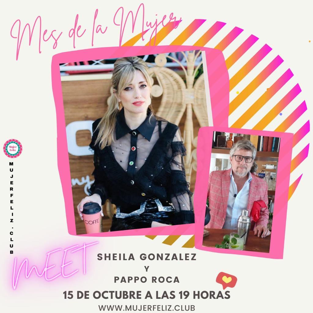 Mujer Feliz te invita a festejar el mes de la mujer con el  humor de Sheila Gonzalez y Pappo Roca