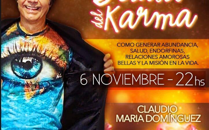 Llega el nuevo  streaming de Claudio María Dominguez
