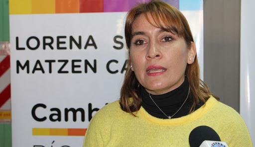 La Diputada Lorena Matzen expresó su repudio por la violencia ejercida en los cortes de ruta en Río Negro