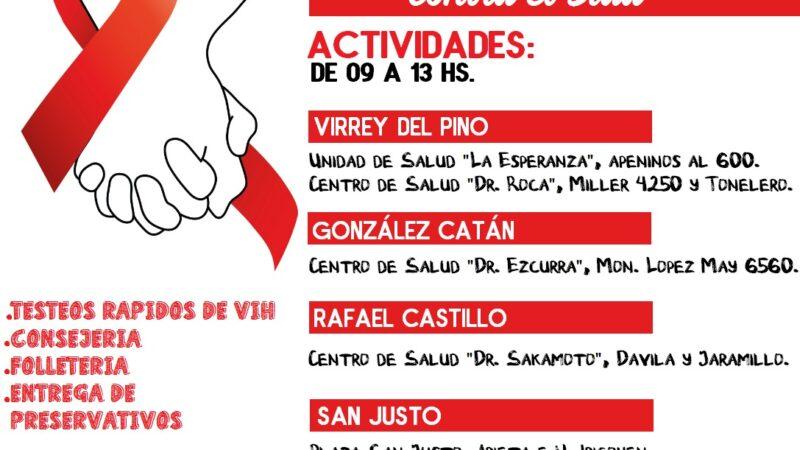 Jornada de Prevención y Concientización por el Día Mundial de la lucha contra el Sida