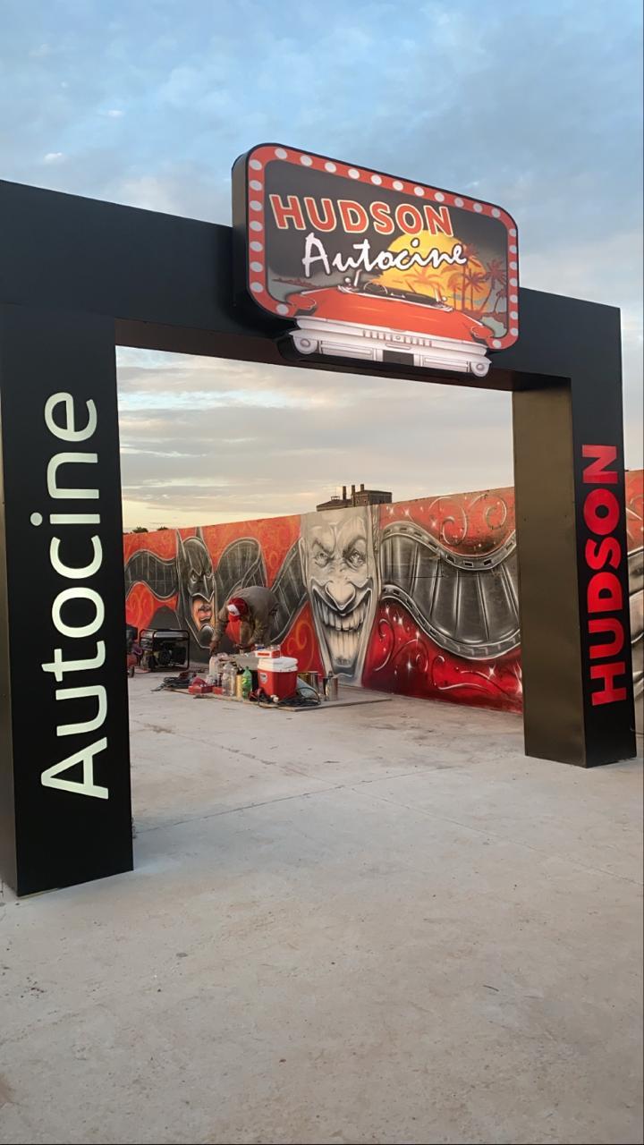 """Se inaugura el """"Autocine y shows Hudson"""" en el partido de Berazategui"""