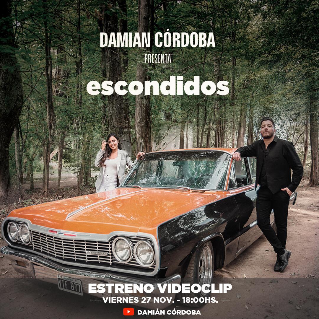 Damian Cordoba presenta nuevo single Escondidos
