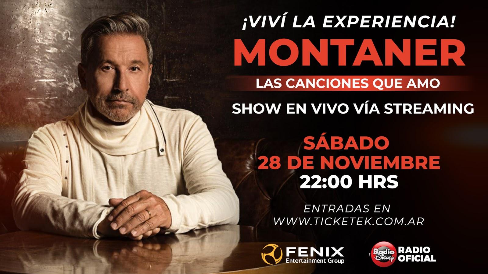 Ricardo Montaner dará un recital virtual