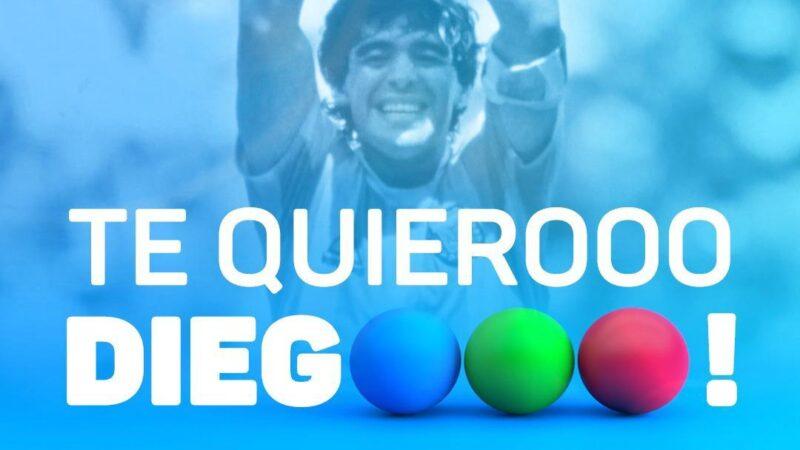 """Telefe presenta """"Te quiero, Diego"""" programa especial para homenajear al astro del fútbol"""