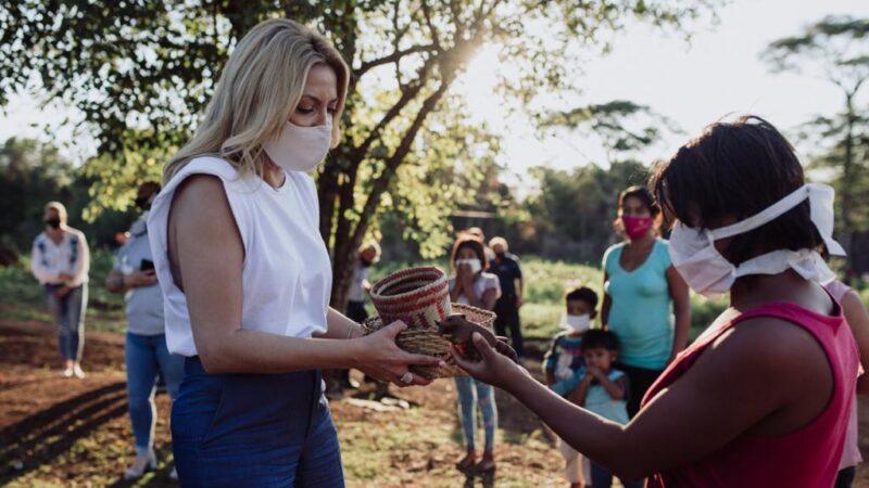 Yacyretá inició obras de agua potable, impulsadas por la Primera Dama