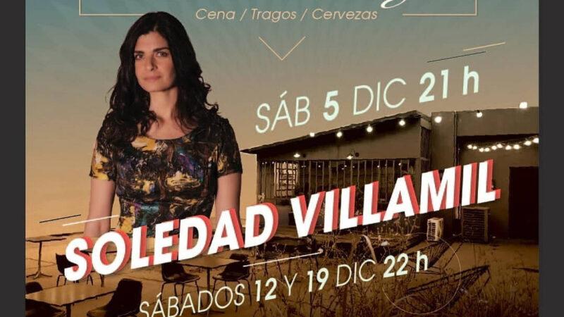 Soledad Villamil en la terraza del Picadero