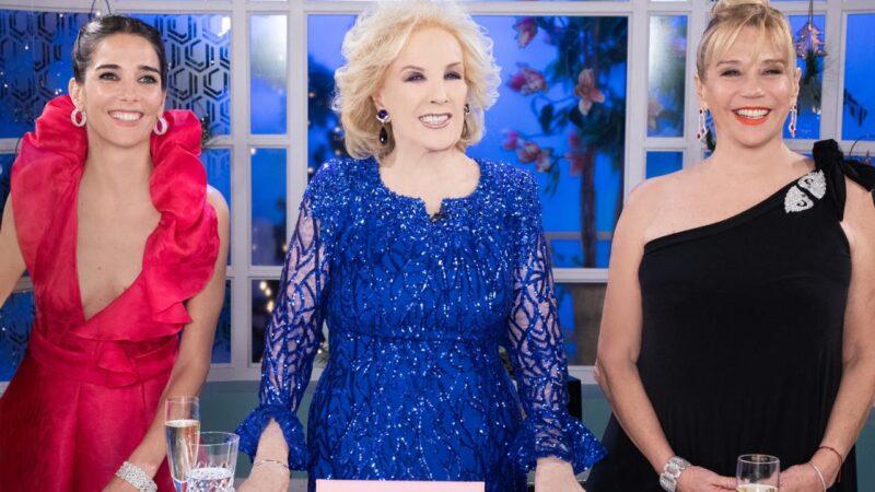 Mirtha Legrand, Juana Viale y Marcela Tinayre brillaron con sus looks en el regreso de La Chiqui a la TV