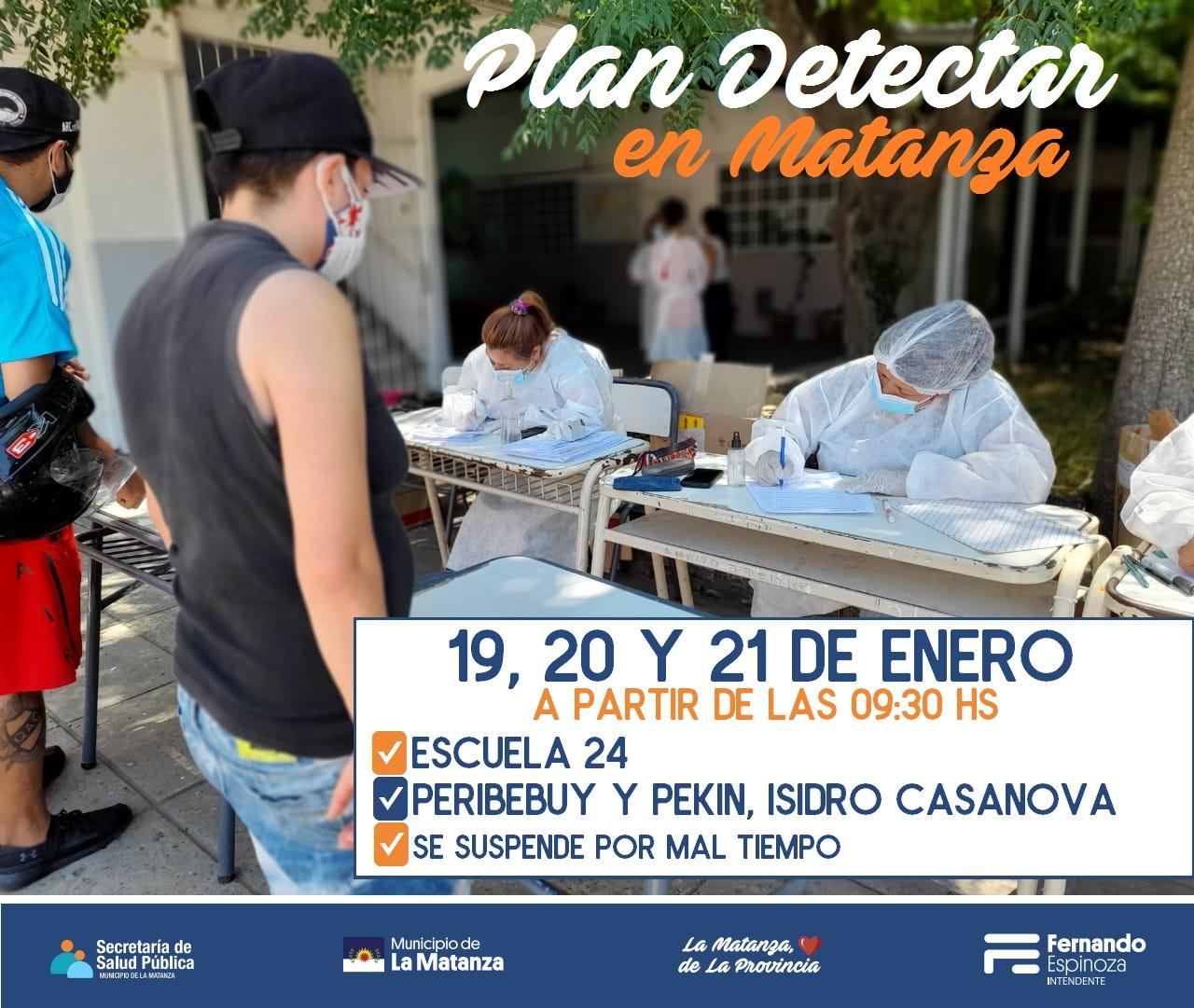 Plan Detectar en Isidro Casanova