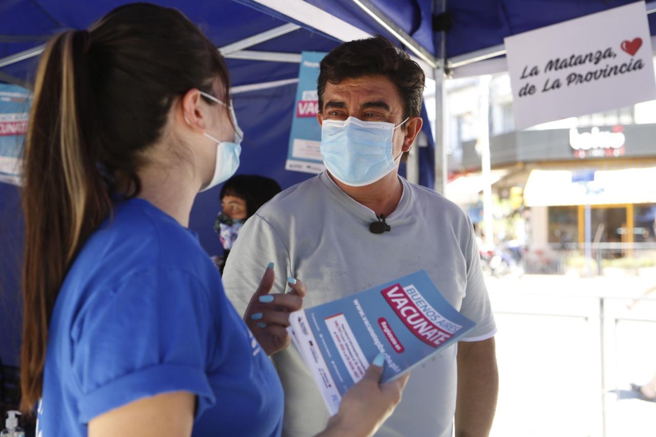 La juventud de La Matanza colabora solidariamente para inscribirse en Buenos Aires Vacunate