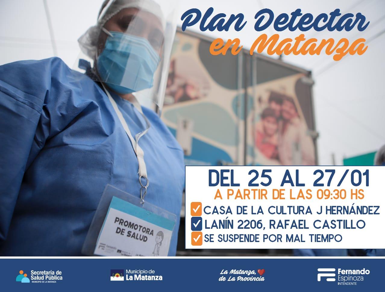 Plan Detectar en Rafael Castillo